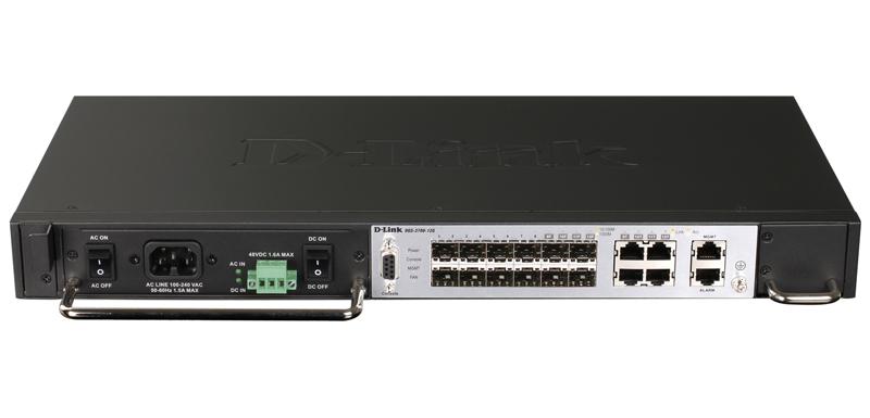 Коммутатор D-LINK DGS-1210-20/C1A Настраиваемый коммутатор WebSmart с 16 портами 10/100/1000Base-T и 4 портами 1000Base-X SFP